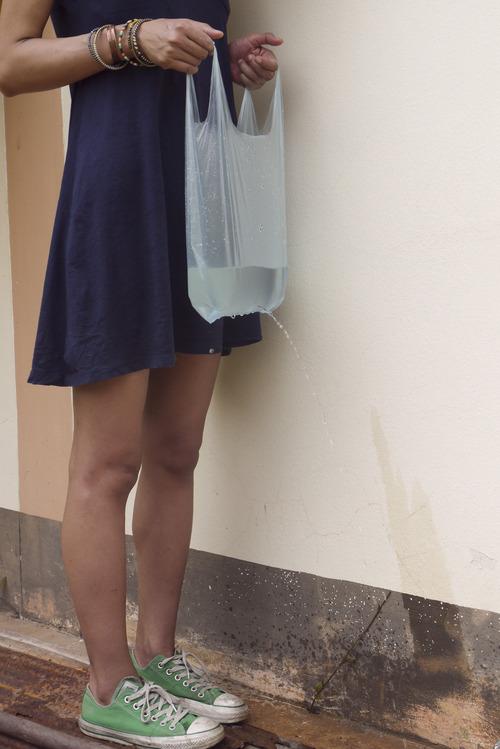 gender blue bag light